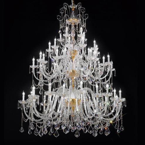 """Veronese"" grand lustre vénitienne en cristal"
