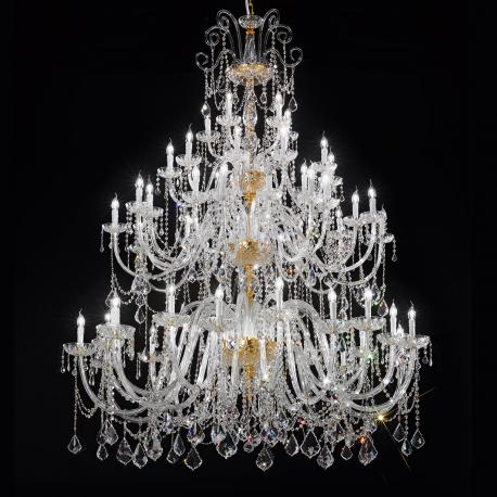 Veronese large venetian crystal chandelier murano glass chandeliers veronese large venetian crystal chandelier 2020105 lights aloadofball Images