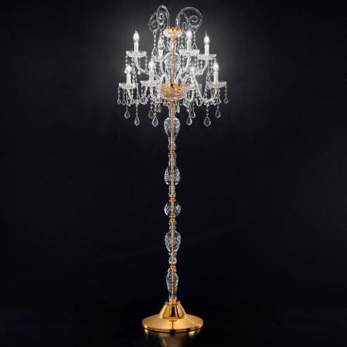 """""""Veronese"""" venetian crystal floor lamp"""