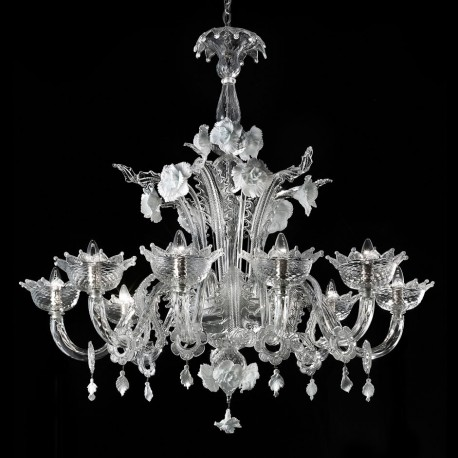 artico lustre en verre de murano murano glass chandeliers. Black Bedroom Furniture Sets. Home Design Ideas