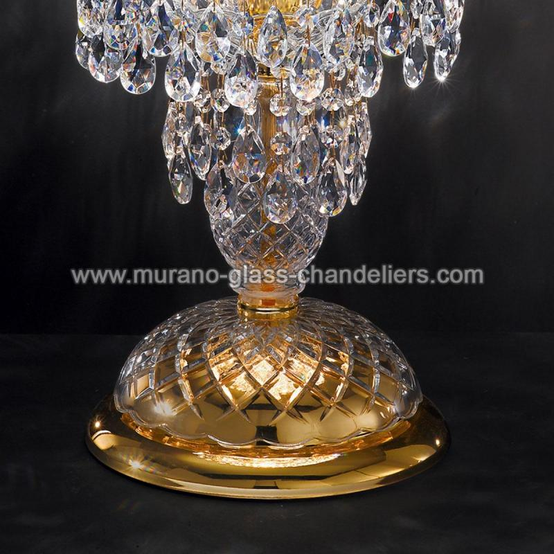 signorini grand lampe de chevet v nitienne en cristal murano glass chandeliers. Black Bedroom Furniture Sets. Home Design Ideas