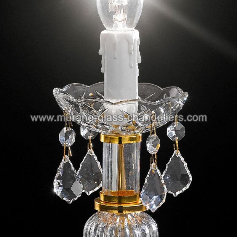 alfieri grand lampe de chevet v nitienne en cristal murano glass chandeliers. Black Bedroom Furniture Sets. Home Design Ideas