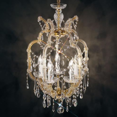 """Baricco"" venetian crystal chandelier"