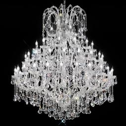 """Canaletto"" venetian crystal chandelier"