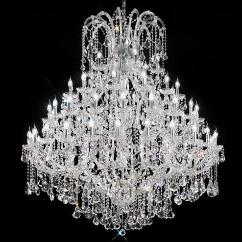 """Canaletto"" venetian crystal chandelier"
