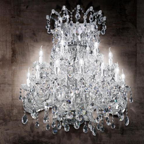 """""""Canaletto"""" aplique veneciano de pared en cristal"""
