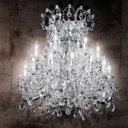 """Canaletto"" venetian crystal wall sconce"
