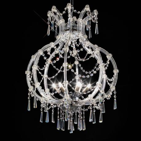 Modigliani Venetian Crystal Pendant Light