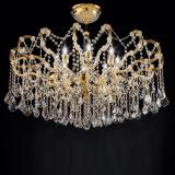 """Arcimboldo"" venetian crystal ceiling light"