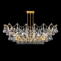 """Apicella"" venetian crystal ceiling light"