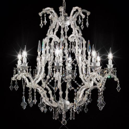 """Cattaneo"" lustre vénitienne en cristal"