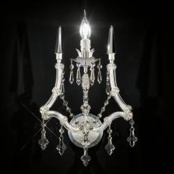 """Cattaneo"" venetian crystal wall sconce"