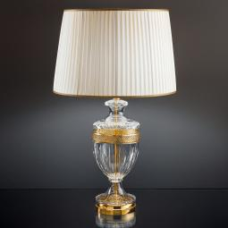 """Giotto"" venetian crystal table lamp"