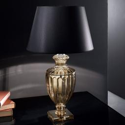 """Baccarini"" venetian crystal table lamp  - 1 light"