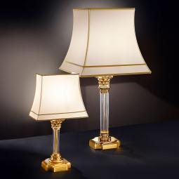 """Angelico"" venetian crystal table lamp"