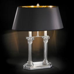 """Ghirlandaio"" venetian crystal table lamp"