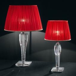 """Da Vinci"" venetian crystal table lamp"