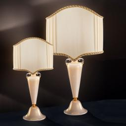 """Ermenegildo"" venetian crystal table lamp"