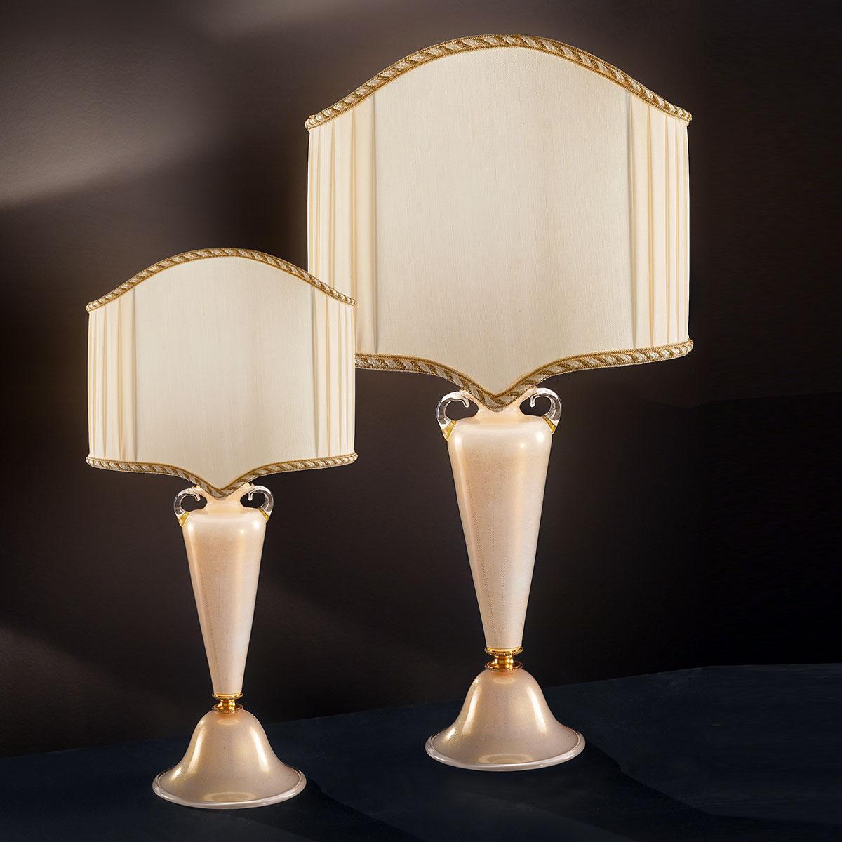 """""""Ermenegildo"""" lampe de table vénitienne en cristal - 1 lumière"""