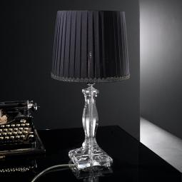 """Allimandi"" venetian crystal table lamp"