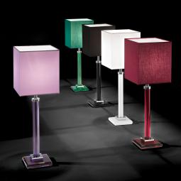 """Battiato"" venetian crystal table lamp"