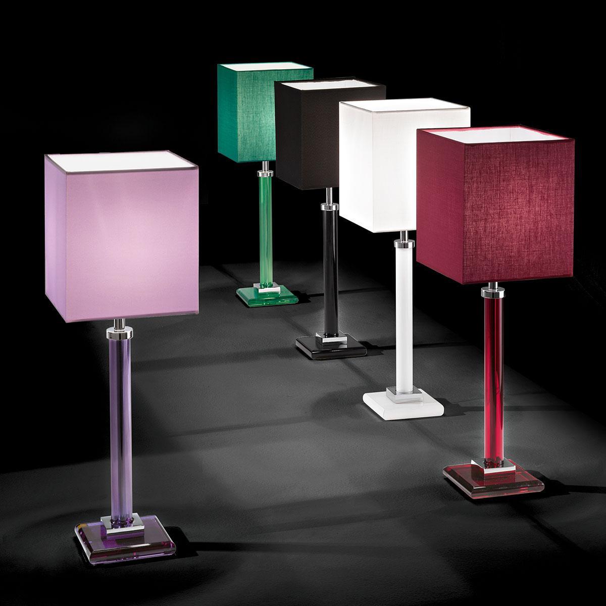 """""""Battiato"""" lampe de table vénitienne en cristal - 1 lumière"""