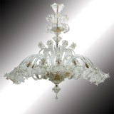 """Mirabile"" oval shape Murano glass chandelier"