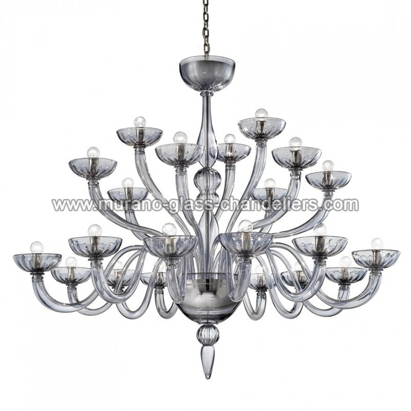 nirvana lustre en verre de murano murano glass chandeliers. Black Bedroom Furniture Sets. Home Design Ideas