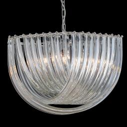 """Carrie"" suspension en verre de Murano"