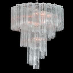 """Percy"" Murano glass chandelier"