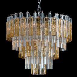 """Kylie"" Murano glass chandelier"