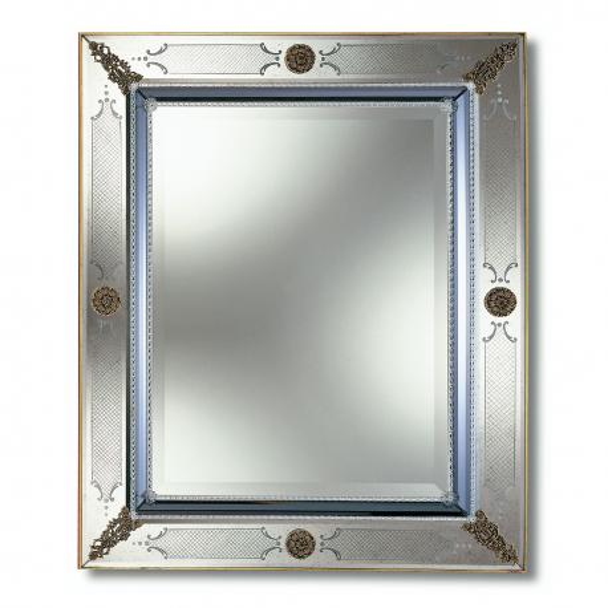 """Azzurra"" Murano glas venezianischen spiegel"