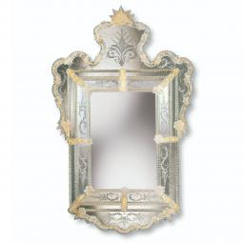 """""""Alberta"""" Murano glass venetian mirror"""