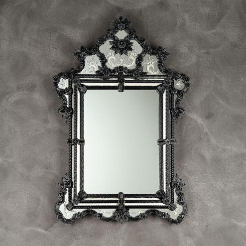 """""""Zelinda"""" espejo veneciano de cristal de Murano"""