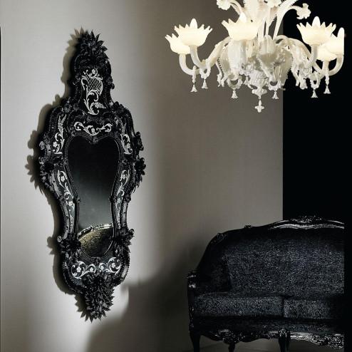 """Porzia"" Murano glass venetian mirror"