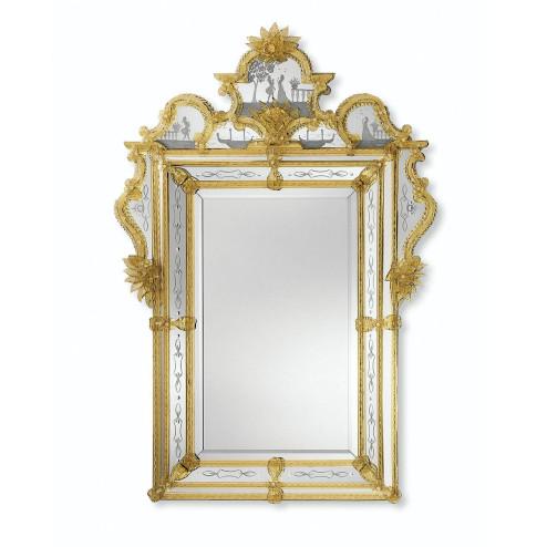 """Acilia"" Murano glas venezianischen spiegel"