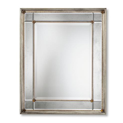 """""""Rosalinda"""" miroir vénitien en verre de Murano"""