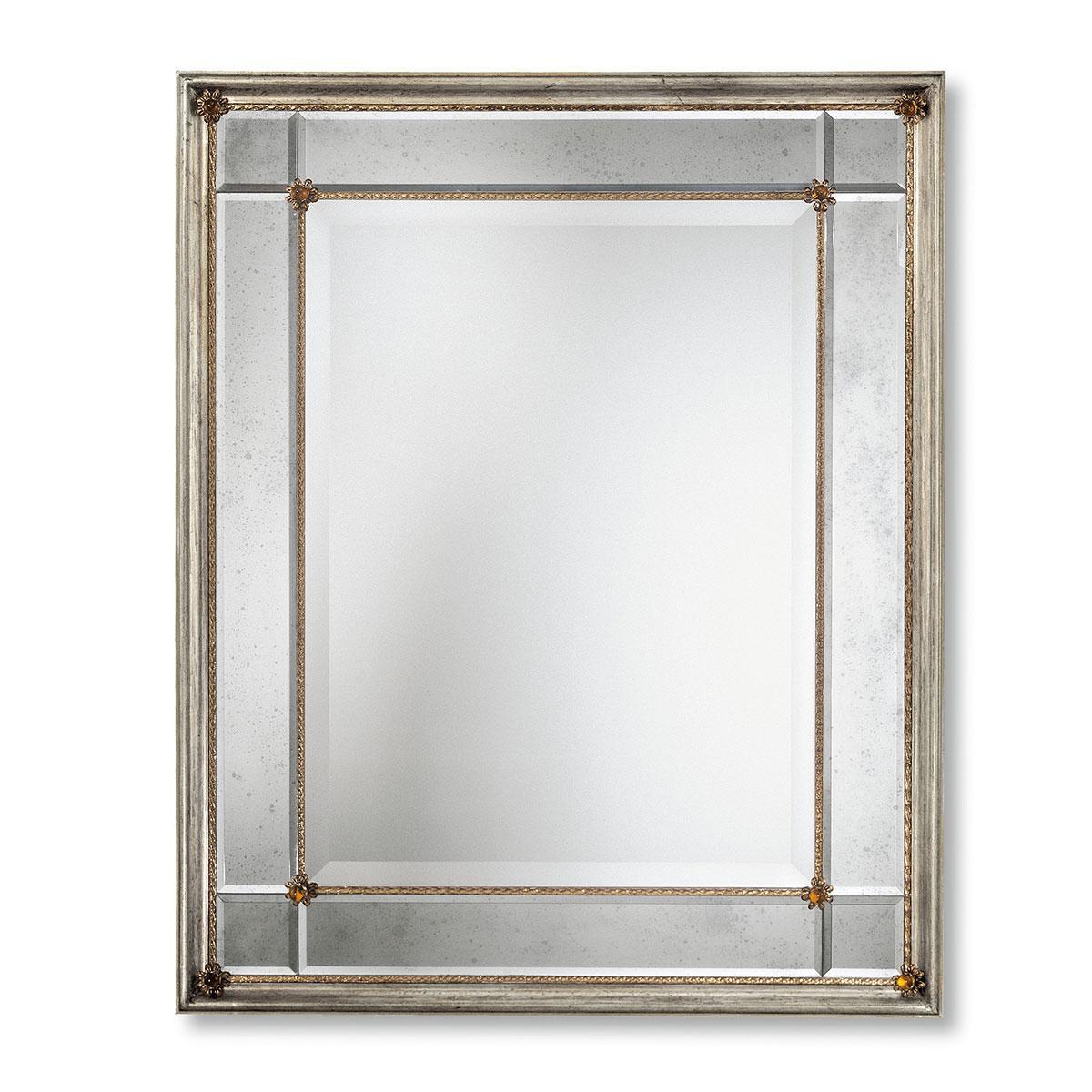 """""""Rosalinda"""" espejo veneciano de cristal de Murano"""
