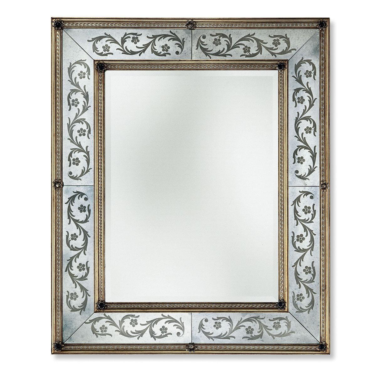 """""""Annabella """" miroir vénitien en verre de Murano"""