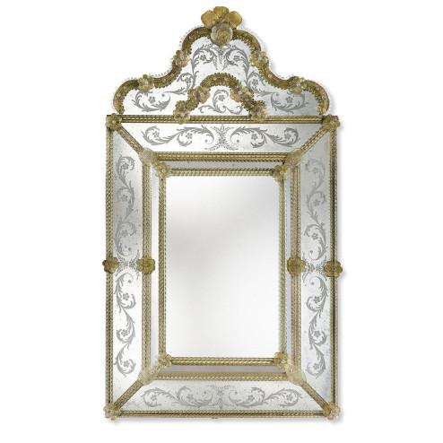 """""""Marianna"""" Murano glass venetian mirror"""