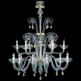"""Moira"" Murano glass chandelier"