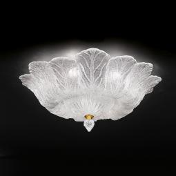 """Loretta"" Murano glass ceiling light"