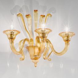 """Marinella"" Murano glass sconce"