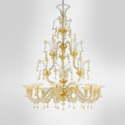 """Tabita"" Murano glass chandelier"
