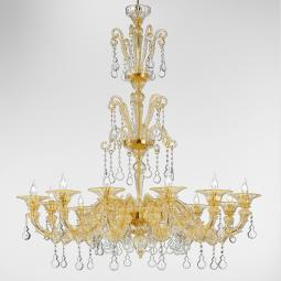 """Priscilla"" Murano glass chandelier"