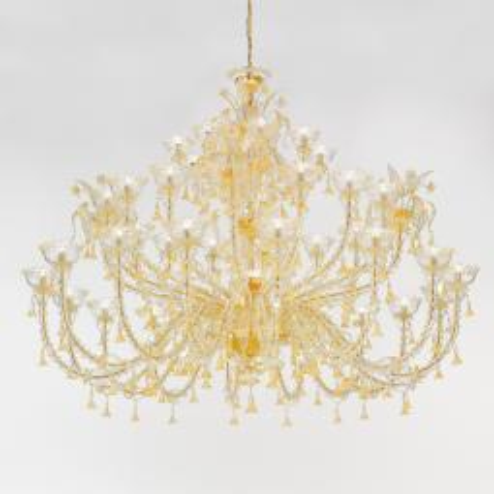 """Silvana"" lustre en cristal de Murano"