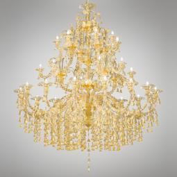 """Patrizia"" Murano glass chandelier"