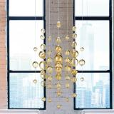 """Virginia"" Murano glass pendant light"