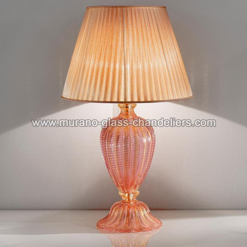 Romina murano glass table lamp murano glass chandeliers romina murano glass table lamp 1 light aloadofball Gallery