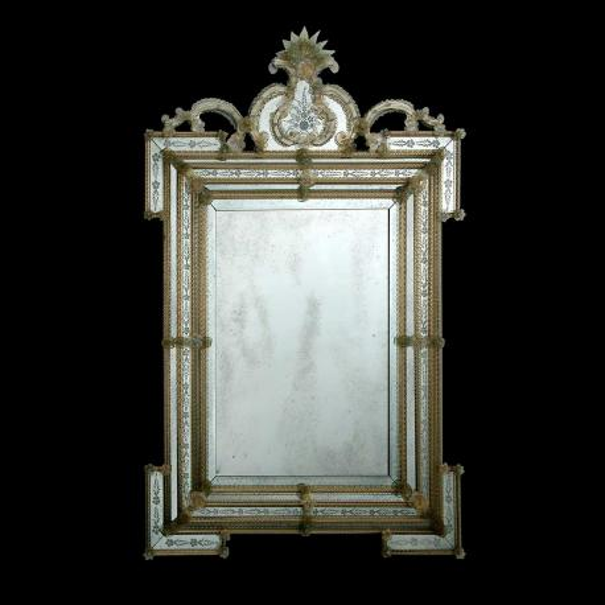 """Clelia "" Murano glas venezianischen spiegel"